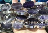 CME501 12 inches 18*28mm - 20*30mm oval amethyst beads