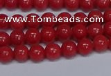 CMJ107 15.5 inches 6mm round Mashan jade beads wholesale