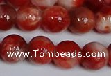 CMJ1156 15.5 inches 8mm round jade beads wholesale