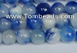 CMJ1195 15.5 inches 6mm round jade beads wholesale