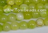 CMJ1205 15.5 inches 6mm round jade beads wholesale