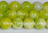 CMJ1206 15.5 inches 8mm round jade beads wholesale