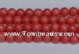 CMJ148 15.5 inches 4mm round Mashan jade beads wholesale
