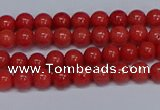 CMJ15 15.5 inches 4mm round Mashan jade beads wholesale