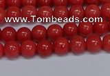 CMJ16 15.5 inches 6mm round Mashan jade beads wholesale