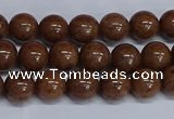 CMJ185 15.5 inches 8mm round Mashan jade beads wholesale