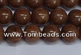 CMJ187 15.5 inches 12mm round Mashan jade beads wholesale