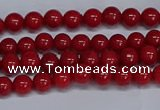 CMJ22 15.5 inches 4mm round Mashan jade beads wholesale