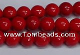 CMJ227 15.5 inches 8mm round Mashan jade beads wholesale