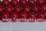 CMJ241 15.5 inches 8mm round Mashan jade beads wholesale