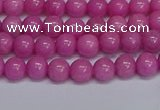 CMJ247 15.5 inches 6mm round Mashan jade beads wholesale