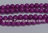 CMJ253 15.5 inches 4mm round Mashan jade beads wholesale
