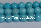 CMJ276 15.5 inches 8mm round Mashan jade beads wholesale
