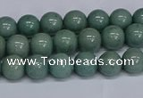 CMJ283 15.5 inches 8mm round Mashan jade beads wholesale