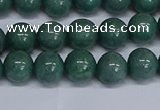 CMJ291 15.5 inches 10mm round Mashan jade beads wholesale