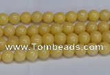 CMJ302 15.5 inches 4mm round Mashan jade beads wholesale