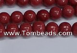 CMJ318 15.5 inches 8mm round Mashan jade beads wholesale