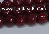 CMJ32 15.5 inches 10mm round Mashan jade beads wholesale