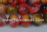 CMJ488 15.5 inches 12mm round rainbow jade beads wholesale