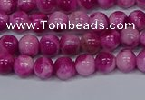 CMJ527 15.5 inches 6mm round rainbow jade beads wholesale