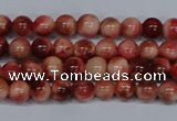 CMJ554 15.5 inches 4mm round rainbow jade beads wholesale