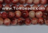 CMJ555 15.5 inches 6mm round rainbow jade beads wholesale