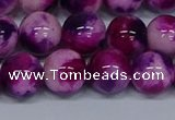 CMJ586 15.5 inches 12mm round rainbow jade beads wholesale