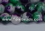 CMJ600 15.5 inches 12mm round rainbow jade beads wholesale