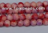 CMJ618 15.5 inches 6mm round rainbow jade beads wholesale