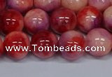 CMJ621 15.5 inches 12mm round rainbow jade beads wholesale