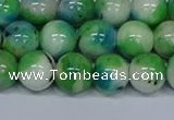 CMJ628 15.5 inches 12mm round rainbow jade beads wholesale