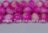 CMJ640 15.5 inches 8mm round rainbow jade beads wholesale