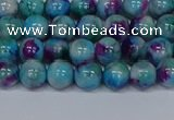 CMJ688 15.5 inches 6mm round rainbow jade beads wholesale