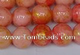 CMJ912 15.5 inches 8mm round Mashan jade beads wholesale