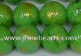 CMJ979 15.5 inches 12mm round Mashan jade beads wholesale