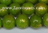CMJ988 15.5 inches 10mm round Mashan jade beads wholesale