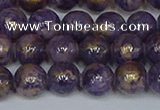 CMJ996 15.5 inches 6mm round Mashan jade beads wholesale