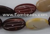 CMK142 15.5 inches 15*23mm oval mookaite beads wholesale