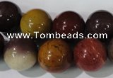 CMK206 15.5 inches 14mm round mookaite gemstone beads wholesale