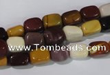 CMK230 15.5 inches 7*10mm nuggets mookaite gemstone beads