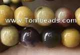 CMK331 15.5 inches 6mm round mookaite beads wholesale