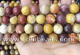 CMK349 15.5 inches 12mm round mookaite jasper beads wholesale