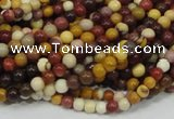 CMK57 15.5 inches 6mm round mookaite gemstone beads wholesale
