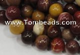 CMK59 15.5 inches 10mm round mookaite gemstone beads wholesale
