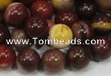 CMK60 15.5 inches 12mm round mookaite gemstone beads wholesale