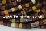 CMK68 15.5 inches 4*4mm cube mookaite gemstone beads wholesale