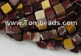 CMK69 15.5 inches 6*6mm cube mookaite gemstone beads wholesale