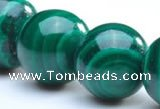 CMN03 A grade round 5mm natural malachite beads Wholesale