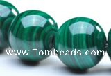 CMN07 12mm round A grade natural malachite beads Wholesale