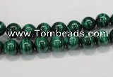 CMN150 AA grade 6mm round natural malachite beads Wholesale